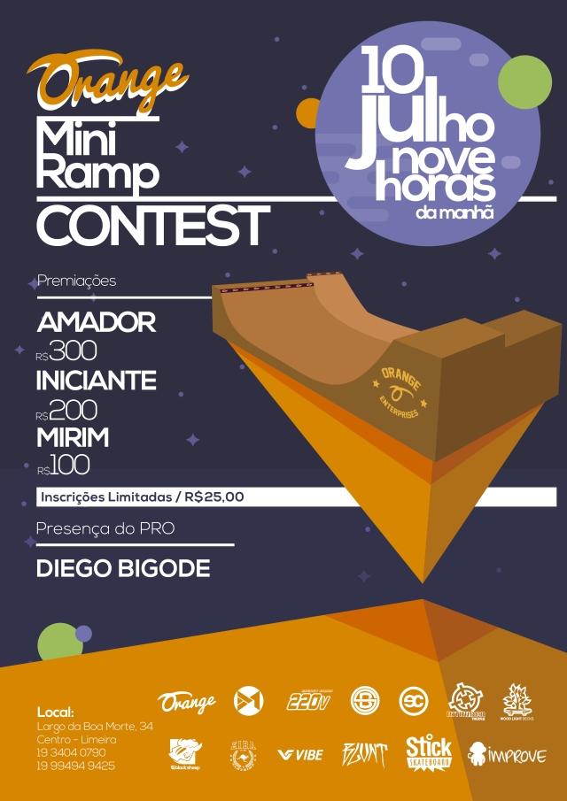 Orange Mini Ramp Contest
