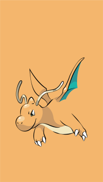 wallpaper Dragonite