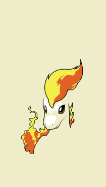 wallpaper Ponyta