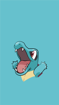 wallpaper Totodile